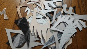 マスクの型紙